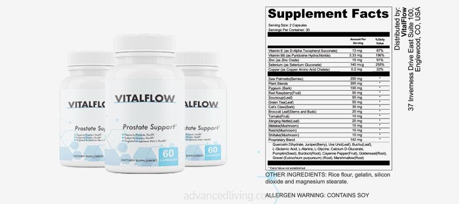 VitalFlow Ingredients