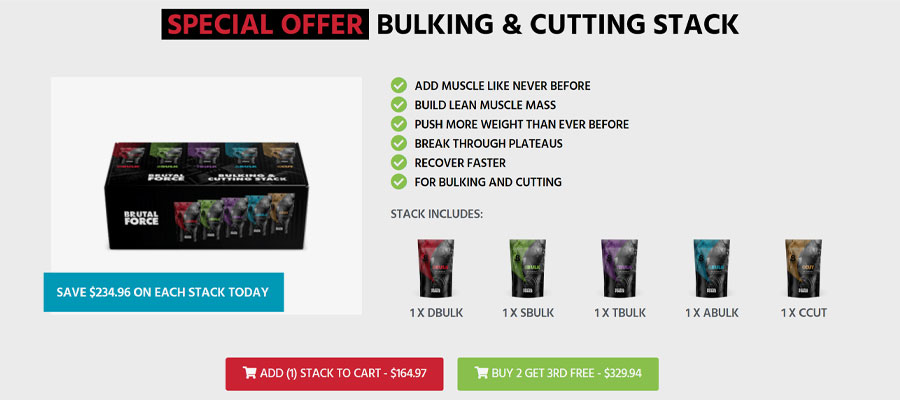 Brutal Force Product Costs