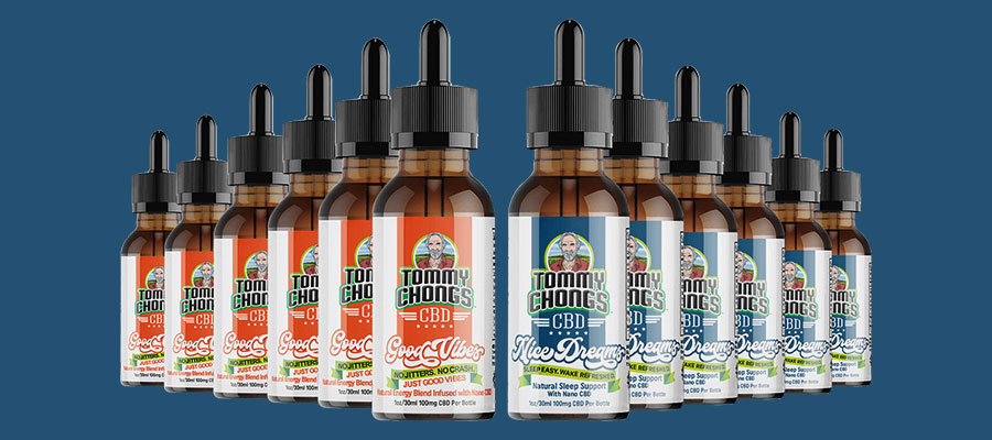 Tommy Chong CBD Tinctures
